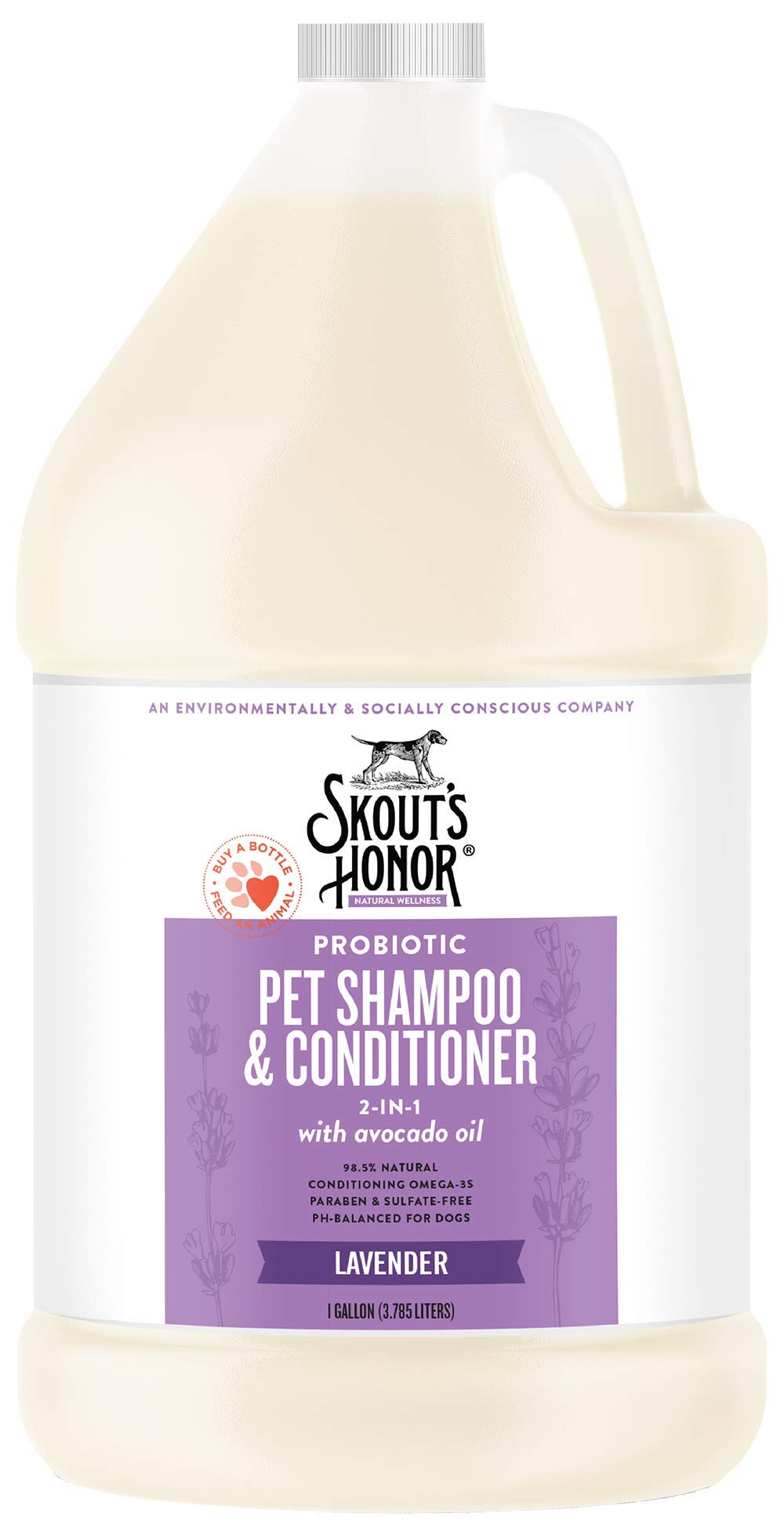 SKOUT'S HONOR Probiotic Pet Conditioner - 1 Gallon