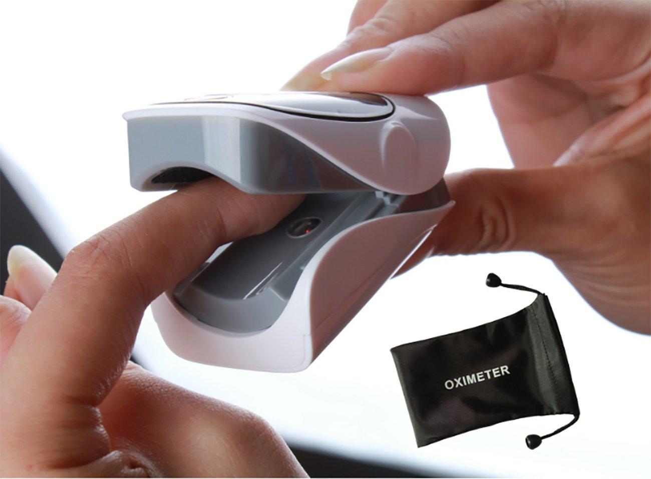 Tochange Digitales Fingerspitzen-Pulsoximeter Blutsauerstoff-Sättigungs-Monitor Bequemer Blutsauerstoff-Sättigungs-Monitor Fingerspitzen-Pulsoximeter a0ece8