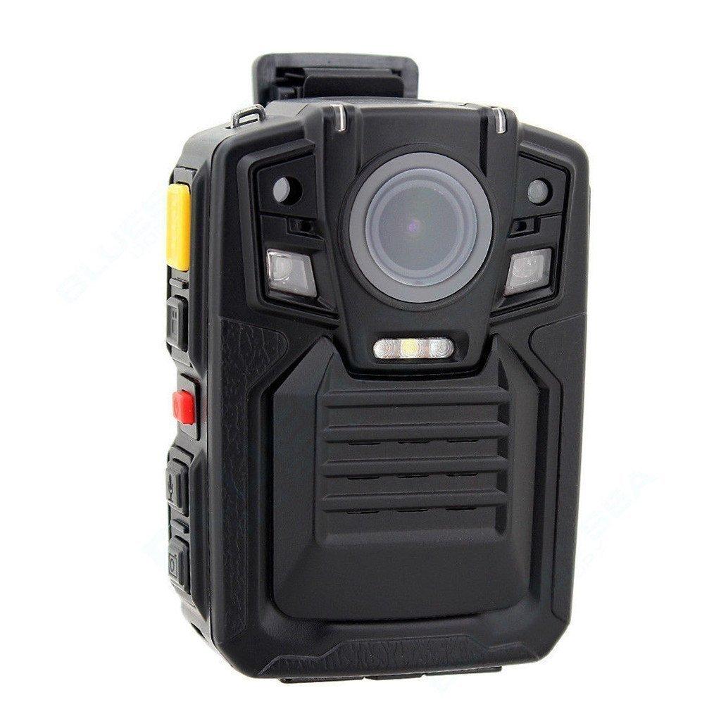 PowMax WW-16 Night Vision Wearable DVR Mini Body Camera 1080P Waterproof GPS Police Body Worn Camera with PPT(Walkie Talkie)
