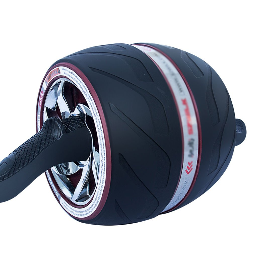 Abdominal Rad Mute Rebound Riesenrad Fitnessgeräte dünne Taille Bauch (Farbe    1)