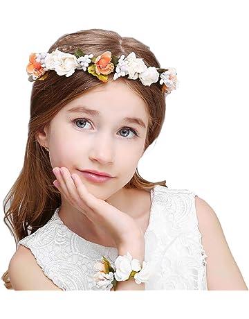 Accessories Petals Baby Girl Headband Cutout Lace Headwear Turban Knot Elasticity Comfortable For Dress Up White Headdress Sweet Princess