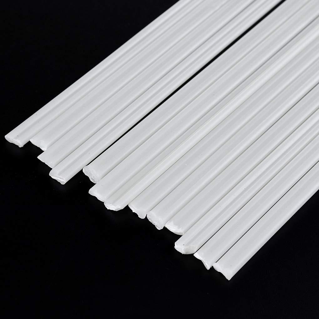 50 Varillas de Soldadura de pl/ástico PP PE PVC 200 mm de Longitud pl/ástico Cdrox ABS
