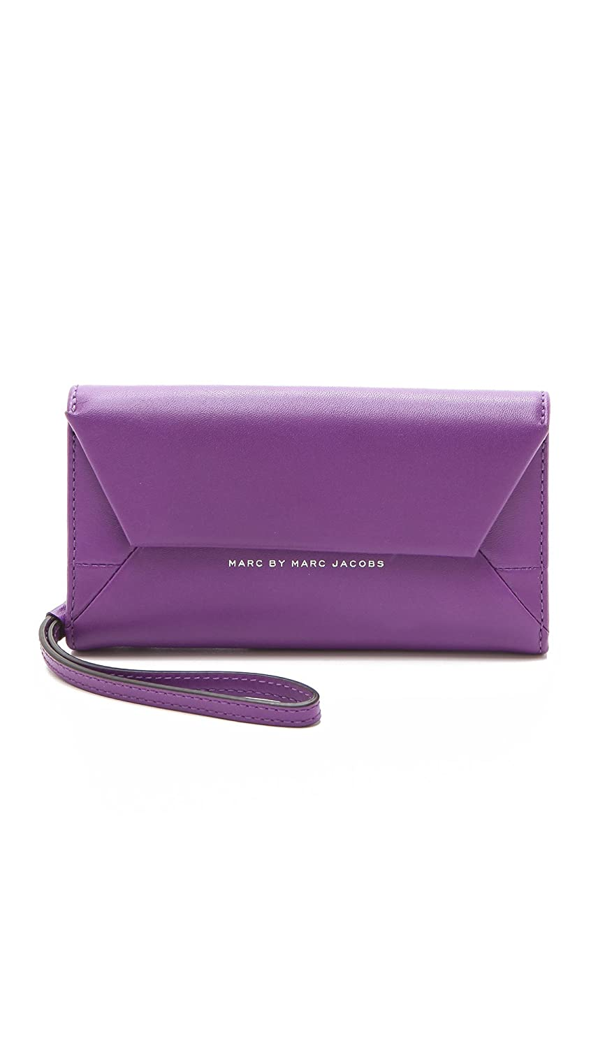 Marc by Marc Jacobs Women's Updated Tangram Phone Wristlet Black One Size