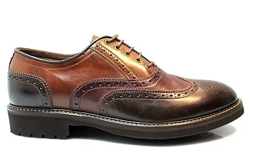Nero Giardini A705272U Marrone Stringate Scarpe Uomo Casual Stile Inglese   Amazon.it  Scarpe e borse 5c9b3f4dee8