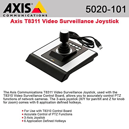 AXIS T8311 JOYSTICK THREE-AXIS JOYSTICK WITH USB CABLE / 5020-101 /