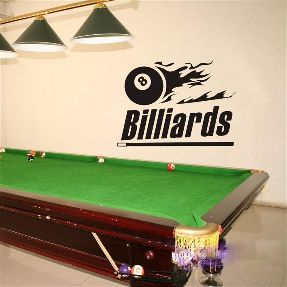 pegatina de pared pegatina de pared 3d Billar Sticker Snooker ...