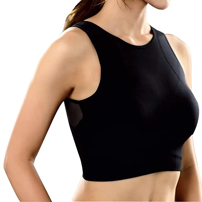 0abb759f7b Snailify Women s Sports Bra High Impact Full Coverage Racerback ...