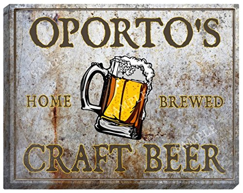 oportos-craft-beer-stretched-canvas-sign-24-x-30