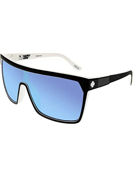 4f5efad7fc Spy FLYNN Whitewall Black White w  Happy Blue Spectra  Amazon.com.au ...