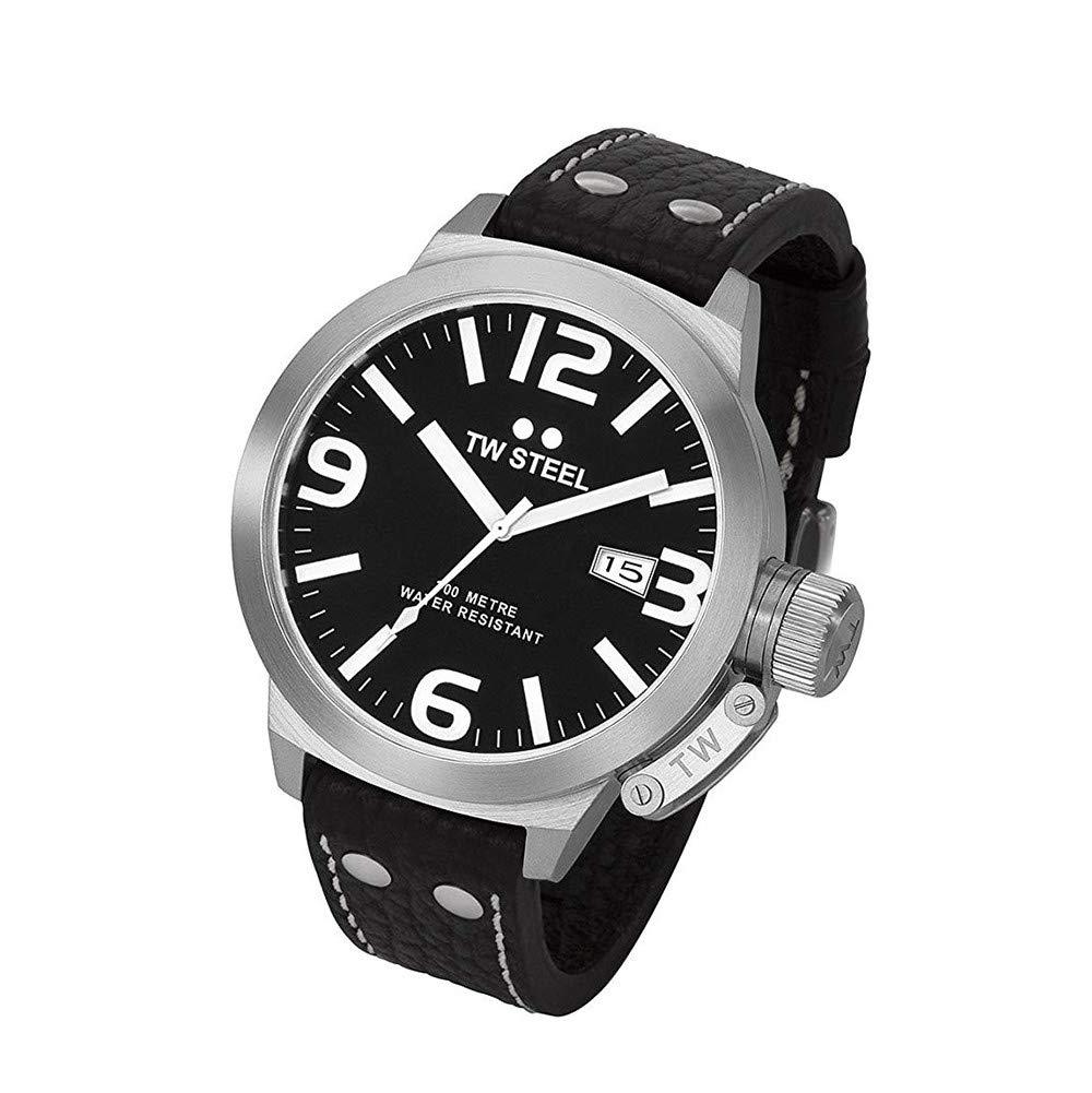 TW Steel Canteen Quartz Male Watch TW22N (Certified Pre-Owned)