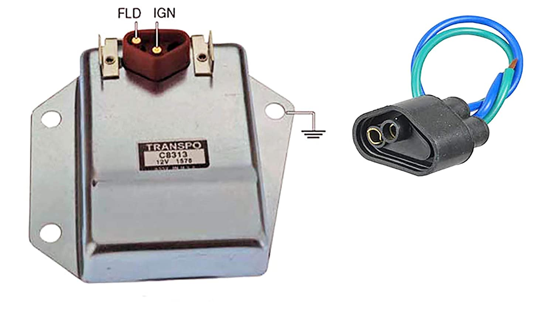 voltage regulator  external voltage regulator wiring chrysler #10