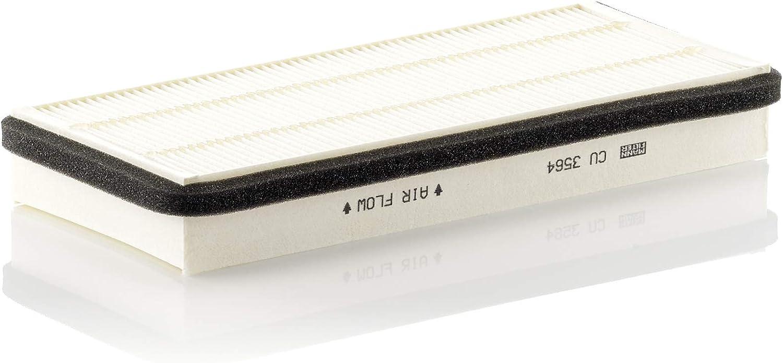 Mann Filter CU 3564 Tauschfilter Innenraumluft