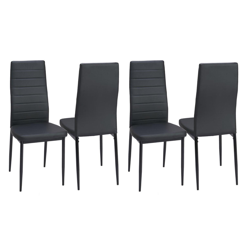 Elegant Dining Room Set Black: Best Dining Chairs Dinning Table Set Home Elegant Black