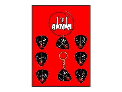 Axman Brian May (Queen) - Paquete (6 púas + 1 Llavero + 1 ...