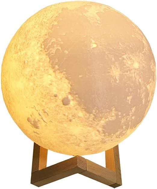 Asosmos 3d Druck Mond Lampe Moonlight Kunst Mondlampe Nachtlampe Wiederaufladbare 2 Farbwechsel Schalter Nachtlicht Eingebaut Batteriebetrieben Dekoration Geschenk 9cm 10cm 12cm 15cm 18cm 20cm Amazon De Beleuchtung