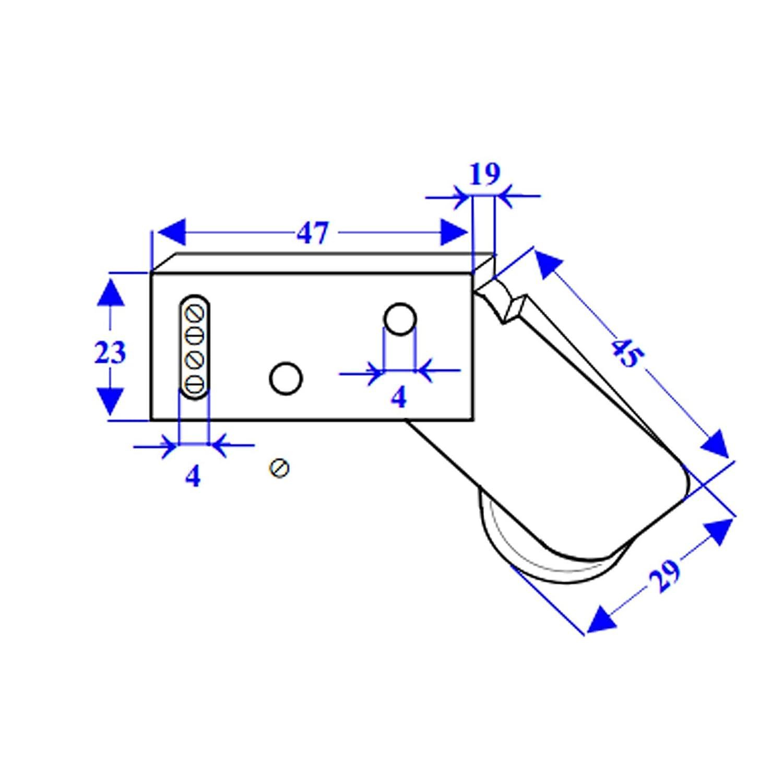 Sensor de Presión Antirrobo Persianas Rotello Contacto Alarma Para Ventanas: Amazon.es: Bricolaje y herramientas