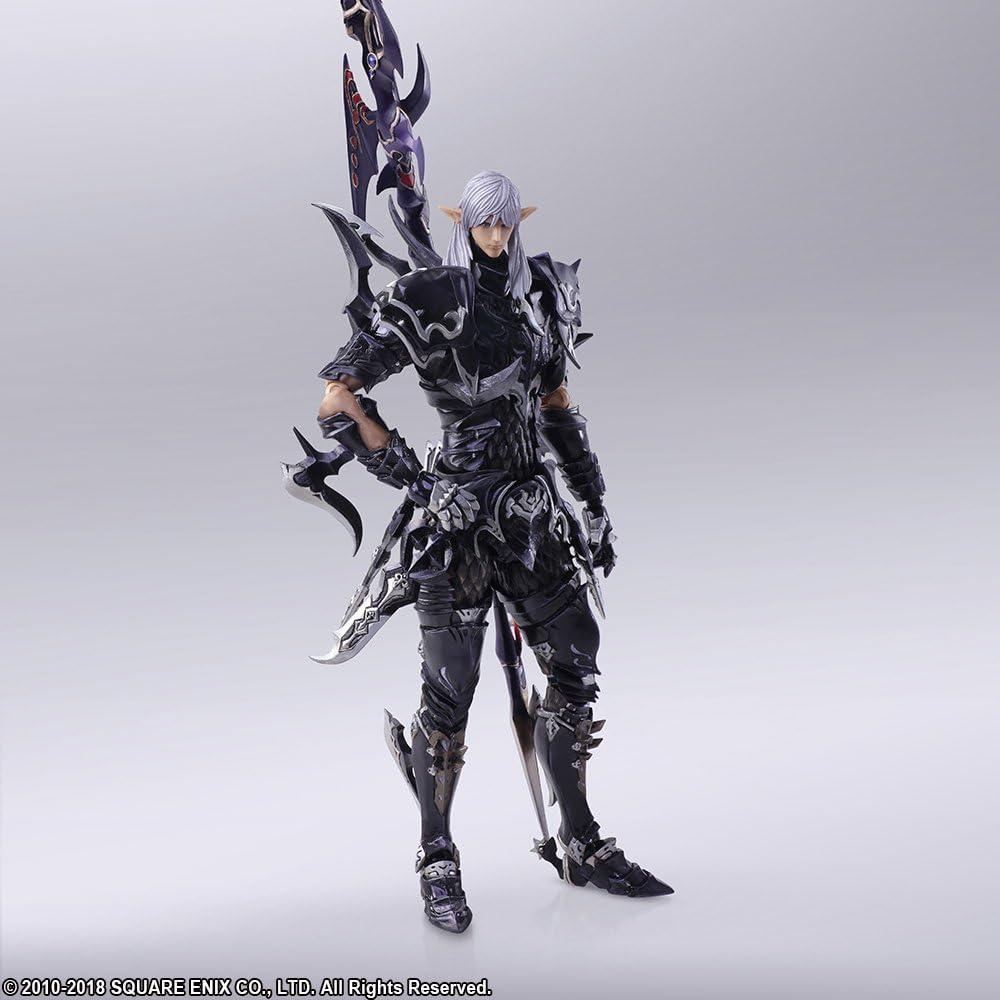 Square Enix Final Fantasy XIV 14 Bring Arts Estinien Action Figure USA Seller