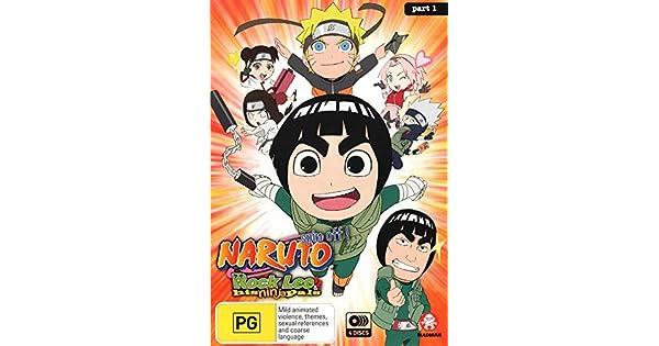 Amazon.com: Naruto Spin-Off: Rock Lee and His Ninja Pals ...