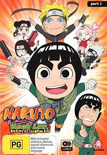 Naruto Spin-Off: Rock Lee and His Ninja Pals [Part 1 Eps 1-26] [NON-USA Format, Region 4 Import - Australia]