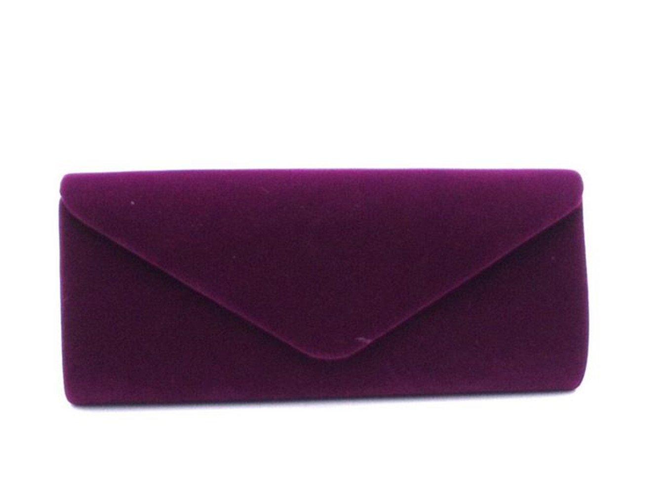 Nodykka Clutch Purses For Women Evening Bags Shoulder Envelope Party Cross Body Handbags (Purple) by Nodykka (Image #1)