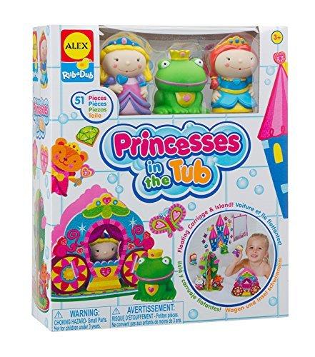 ALEX Toys Rub a Dub Princesses in the Tub - 51 Pieces by ALE