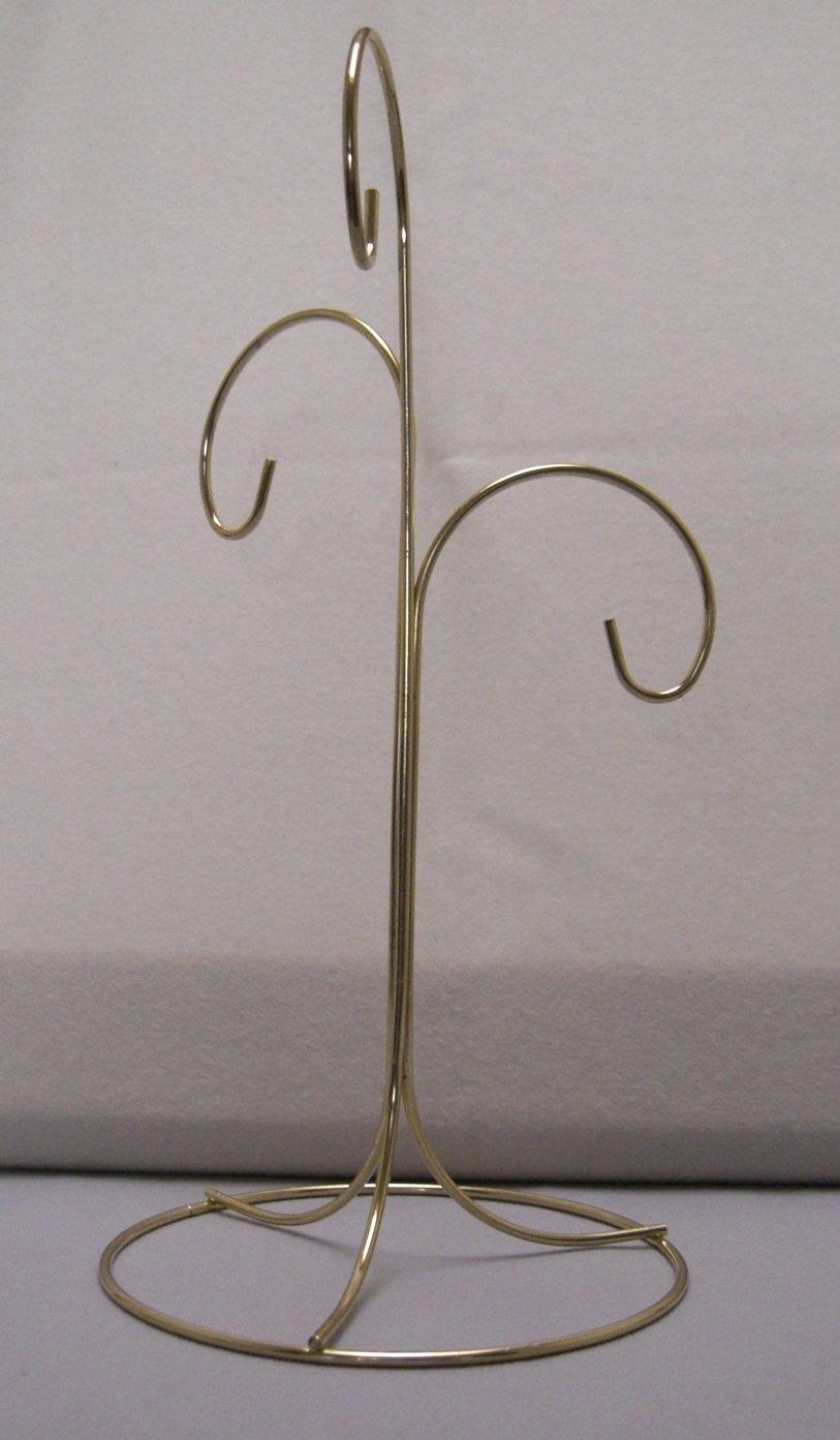 StealStreet 34122 3 Arm Brass Finish Ornament Stand Tripar SS-TRI-34122