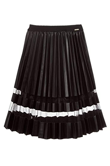 Guess by Marciano, Falda Negra con Pliegues para niña Negro 12 ...
