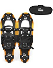 Lixada Snowshoes Aluminum Snow Shoes with Adjustable Poles and Carrying Bag for Women Men 25/27/19 inch Optional