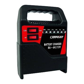 Carpoint 0635808 - Cargador de batería (8 A)
