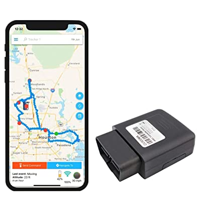 Optimus OBD Port GPS Tracker for Cars: GPS & Navigation
