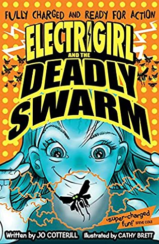 book cover of Electrigirl and the Deadly Swarm
