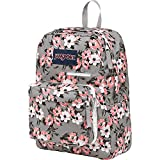 JanSport Digibreak Laptop Backpack (Coral Sparkle Pretty Posey)
