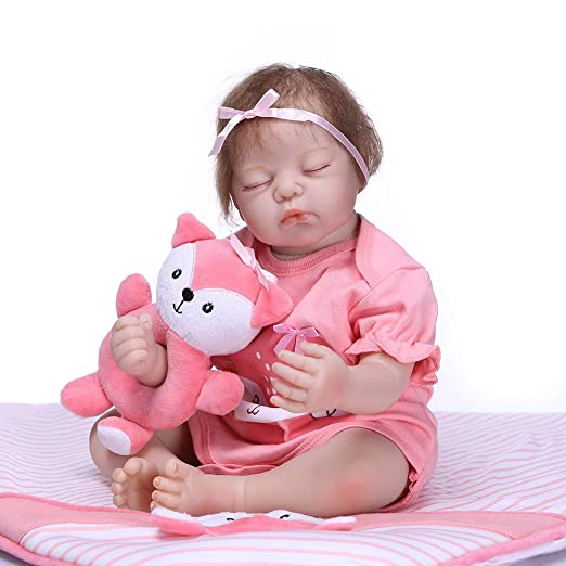 Decdeal 19 Pulgadas Reborn Muñecas para Bebés Juguete de ...