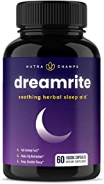 Natural Sleep Aid - Non-Habit Forming - Stress, Anxiety & Insomnia