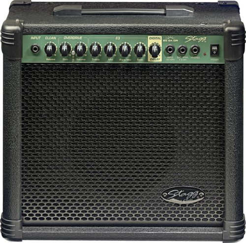 Stagg 20 GA DR USA 20-Watt Guitar Amplifier with Digital Reverb by Stagg