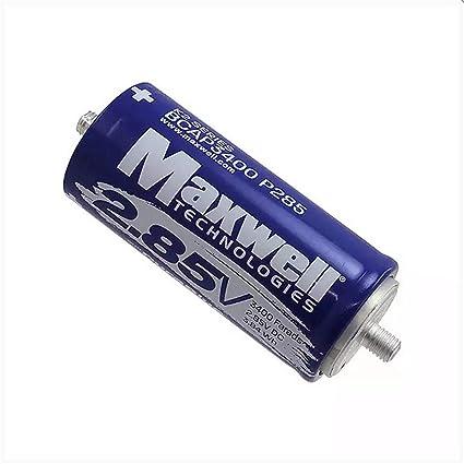 Amazon com: Maxwell DuraBlue car Audio Super Capacitor 2 85V