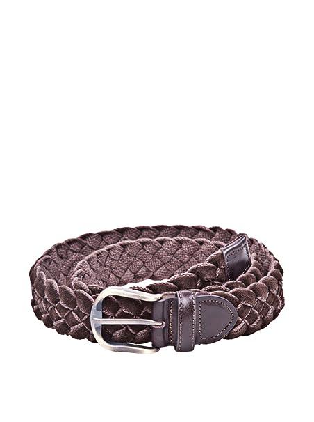 Cortefiel Cinturón Trenzado Marrón Oscuro 90 cm  Amazon.es  Ropa y  accesorios a58ad85e116a