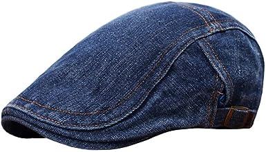 Caps Men Cotton Adjustable Flat Cap Quilted Duckbill Newsboy Gatsby Irish Hat hat