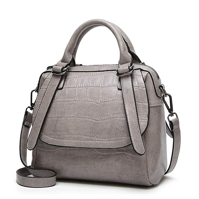 GHC Bolsos y Hombro Bolsos de bandolera para mujeres Bolsos y carteras Bolso de mano para mujer de diseñador (Color : Deep grey, Size : Onesize): Amazon.es: ...