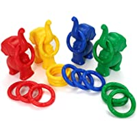 Elephant Ring Toy for Kids and Adults (Blue)