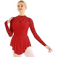 IEFIEL Vestido Maillot de Ballet Danza para Mujer