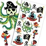 Temporary Play Tattoos - Pirates