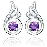 Lily Jewelry Shining Stylish Angel Wings Series Swarovski Element Crystal Necklace For Women