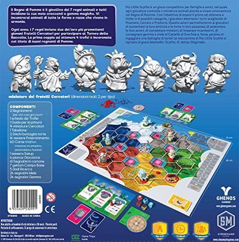 ghenos Games My Little Scythe, Multicolor, ghe099: Amazon.es: Juguetes y juegos