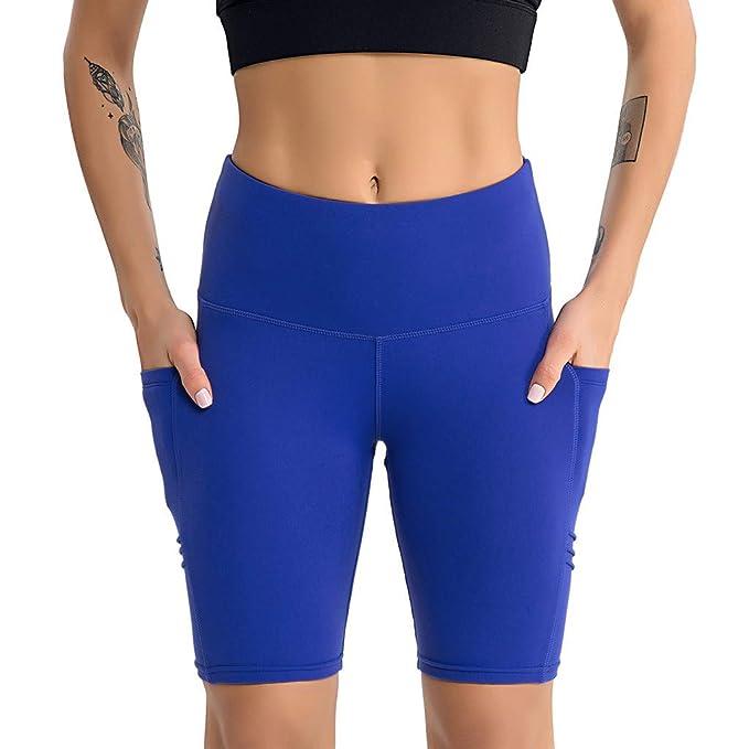 Darringls Pantalones Yoga Mujer, Pantalón Corto Deportivo ...