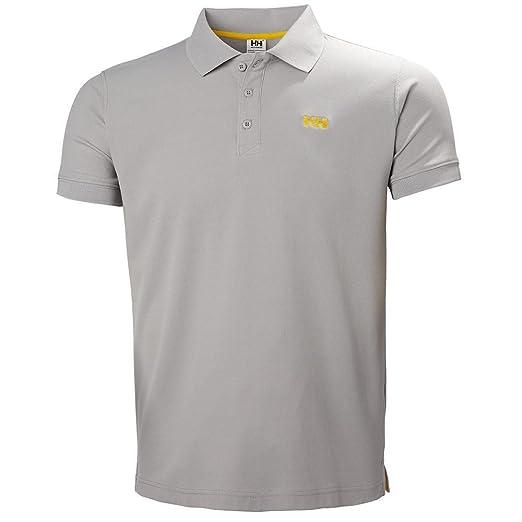 Helly Hansen DRIFTLINE Polo - Polo, Hombre, Gris(820 Silver Grey ...