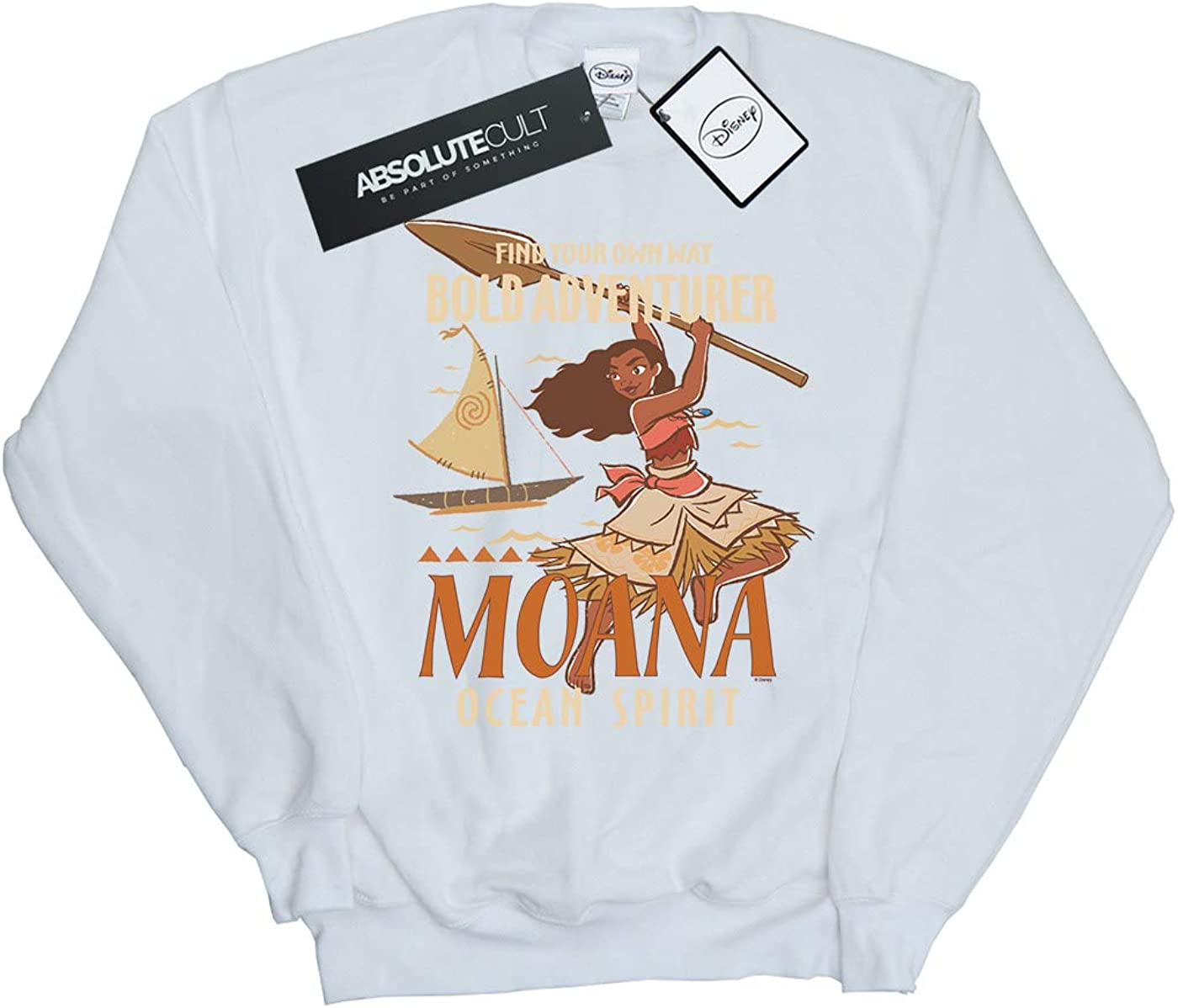 Disney Girls Moana Find Your Own Way Sweatshirt