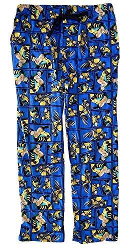 X-Men All Over Print Sleep Pants Pajamas (Medium) -