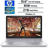 2018 HP Pavilion Backlit Keyboard Flagship 15.6 Inch Full HD Gaming Laptop PC, Intel 8th Gen Core i7-8550U Quad-Core, 8GB DDR4, 2TB HDD, NVIDIA GeForce 940MX Graphics, DVD, Windows 10