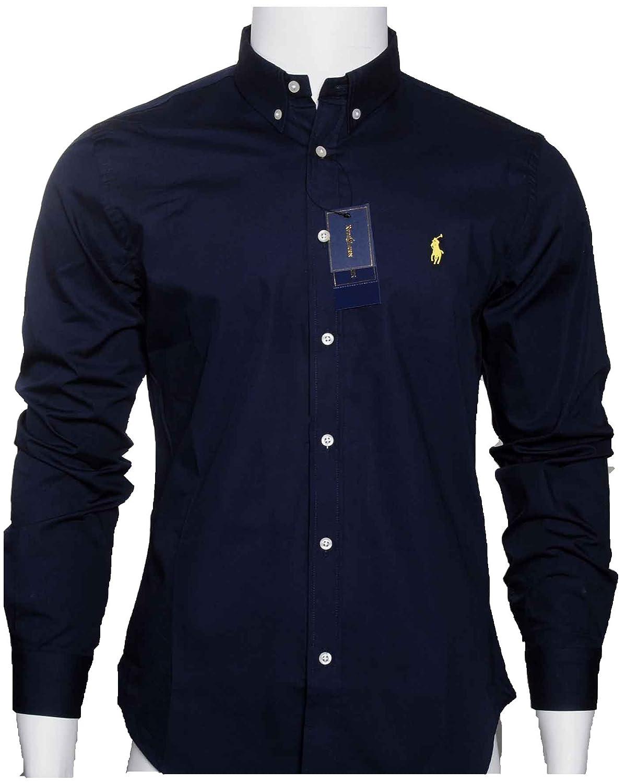 ralph lauren hemd dunkelblau